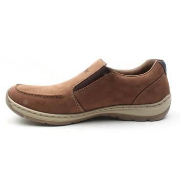 RIEKER 15260 SLIP ON SHOE - TAN