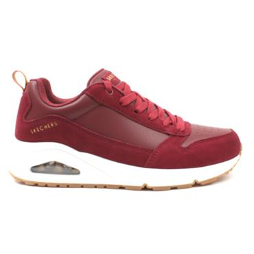 SKECHERS 155132 LACED RUNNER - RED