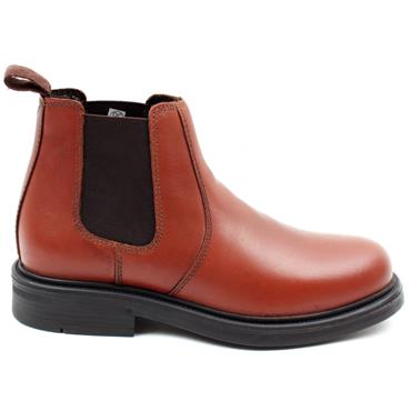 OAKTRAK BOYS GUSSET BOOT - TAN