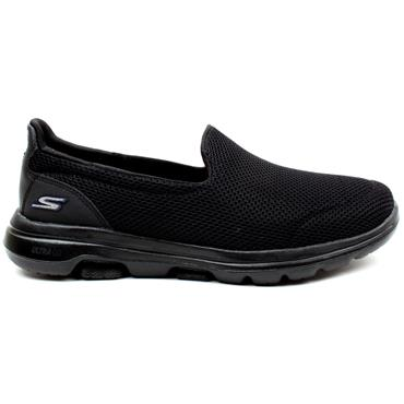 SKECHERS 15901 GO WALK 5 - BLACK/BLACK