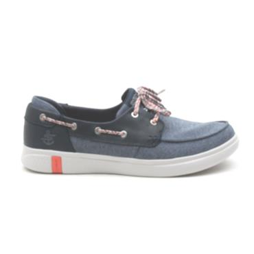 SKECHERS 16110 BOAT SHOE - NAVY