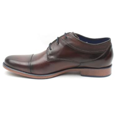 BUGATTI 16314 LACED SHOE - BROWN