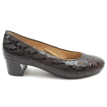 ARA 16601 LOW HEEL SHOE - BROWN