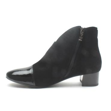 ARA 16605 ANKLE BOOT G FIT - Black