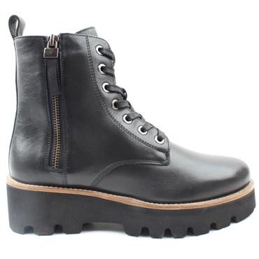 ARA 16711 WIDE FIT LACED BOOT - Black