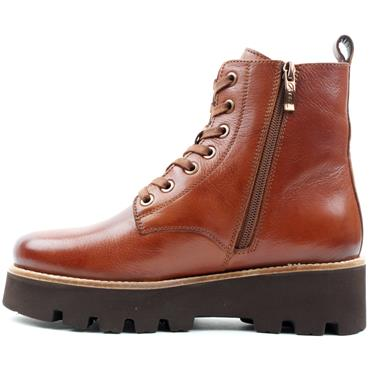 ARA 16711 WIDE FIT LACED BOOT - TAN