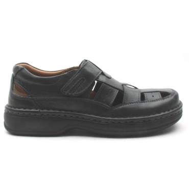 ARA 17116 VELCRO SHOE - Black