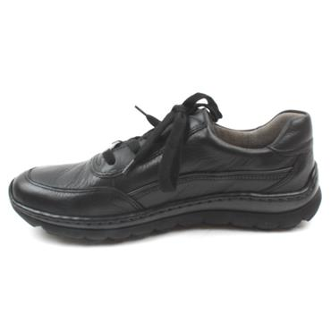 ARA 18522 H FIT LACED SHOE - Black