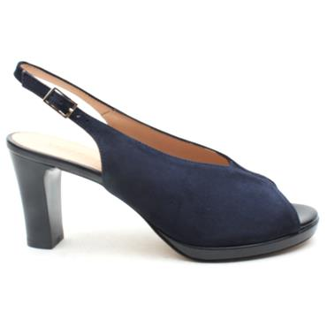 VERNISSAGE 20082 SLING BACK SANDAL - NAVY