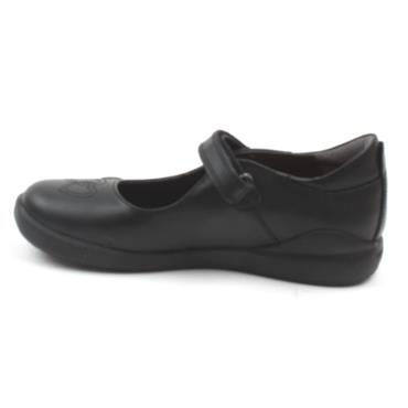 BIOMECANICS 201100 GIRLS SHOE - BLACK LEATHER