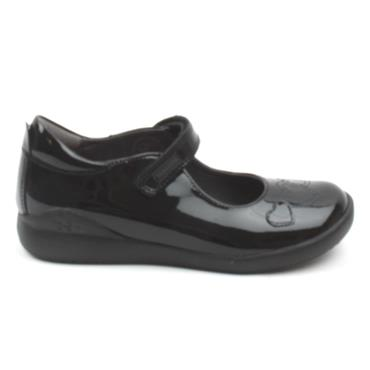 BIOMECANICS 201100 GIRLS SHOE - BLACK PATENT