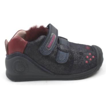 BIOMECANICS 201114 JUNIOR SHOE - NAVY MULTI