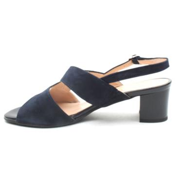 VERNISSAGE 20125 HEELED SANDAL - NAVY