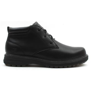 SKECHERS 204266, LACED BOOT - Black