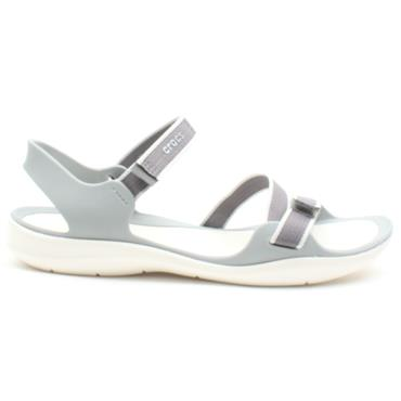 CROCS 204804 LADIES SANDAL - GREY