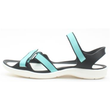 CROCS 204804 LADIES SANDAL - TEAL