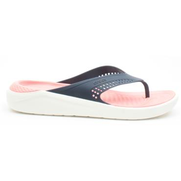 CROCS 205182 FLIP FLOP - NAVY MULTI