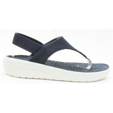 CROCS 205477  MESH FLIP - NAVY/WHITE