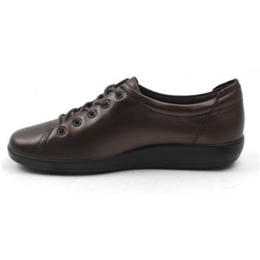 ECCO SOFT 2.0 SHOE 206503 - BRONZE