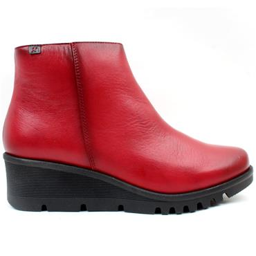 PEPE 20824 WEDGE BOOT - RED