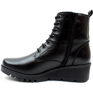 PEPE 20825 WEDGE LACED BOOT - Black