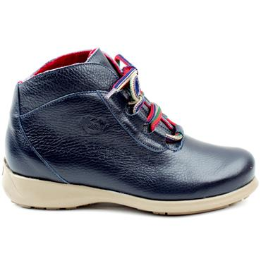 JOSE SAENZ 2082 LACED BOOT - NAVY