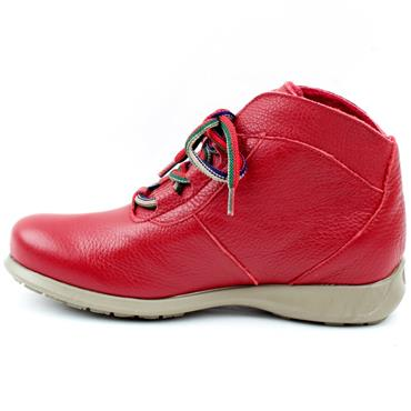 JOSE SAENZ 2082 LACED BOOT - RED