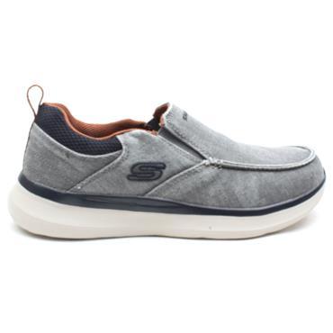 SKECHERS 210025 SLIP ON SHOE - GREY
