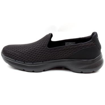 SKECHERS 216208 GO WALK 6 SHOE - BLACK/BLACK