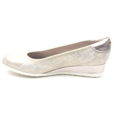 SOLIVER WEDGE SHOE 22302 - CHAMPAGNE
