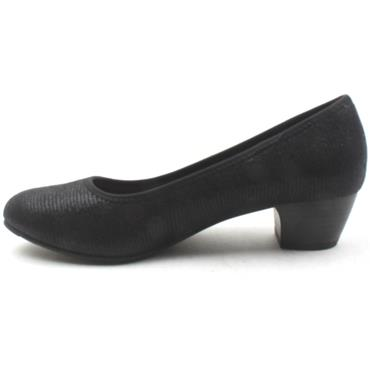 JANA 22361 COURT SHOE - Black
