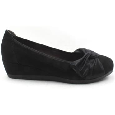 JANA 22367 WEDGE SHOE - Black
