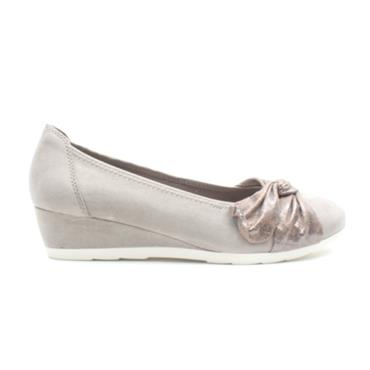 JANA 22367 WEDGE SHOE - TAUPE