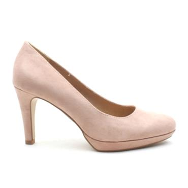 SOLIVER 22400 COURT SHOE - ROSE