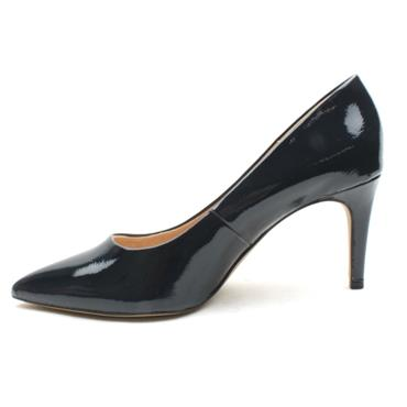 SOLIVER 22403 COURT SHOE - NAVY PATENT