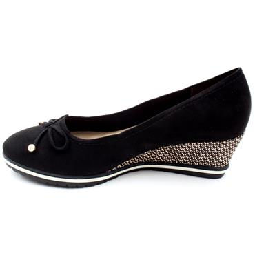 TAMARIS  22423 WEDGE SHOE - Black
