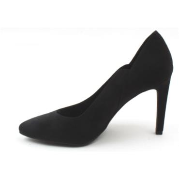 MARCO TOZZI 22437 COURT SHOE - Black