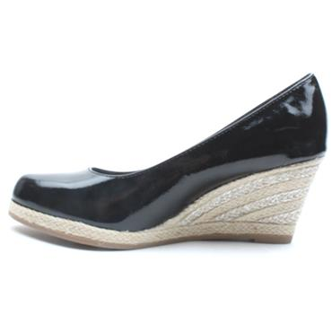 MARCO TOZZI 22440 WEDGE SHOE - BLACK PATENT