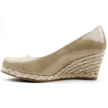 MARCO TOZZI 22440 WEDGE SHOE - NUDE PATENT