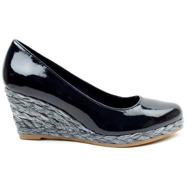 MARCO TOZZI 22440 WEDGE SHOE - NAVY BLUE