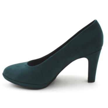 MARCO TOZZI 22441 COURT SHOE - GREEN