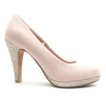 MARCO TOZZI 22441 COURT SHOE - ROSE SUEDE