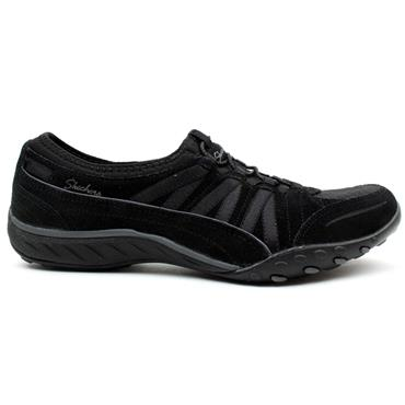 SKECHERS 23020 BREATHEEASY RUNNER - Black