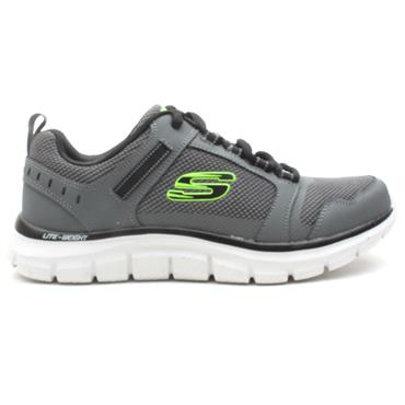 SKECHERS 232001 TRACK RUNNER - BLACK CHARCL