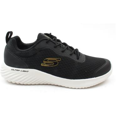 SKECHERS 232005 BOUNDER RUNNER - BLACK/GOLD