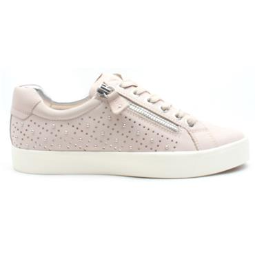CAPRICE 23202 LACED SHOE - ROSE