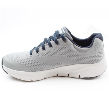 SKECHERS 232040 ARCH FIT RUNNER - GREY MULTI