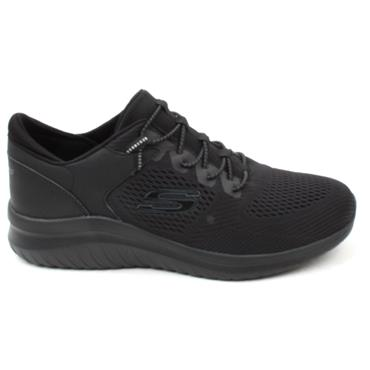SKECHERS 232108 LACED RUNNER - Black