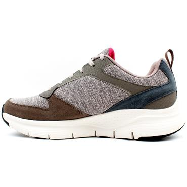 SKECHERS 232205 ARCH FIT RUNNER - TAUPE