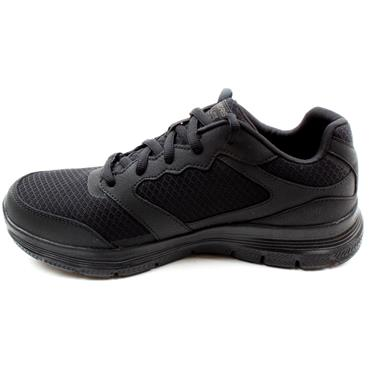 SKECHERS 232225 FLEX ADVANTAGE RUNNER - BLACK/BLACK